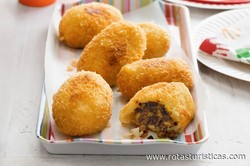 Spiced Beef And Potato Croquettes (aloo Masu Chop)