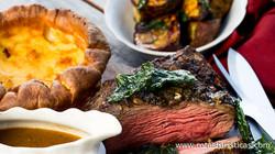 Roast Shorthorn Beef With Kawakawa