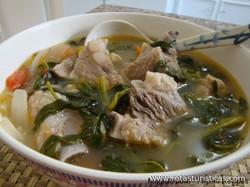Pork Sinigang (sinigang na Baboy)