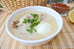 Chicken Congee (arroz Caldo)