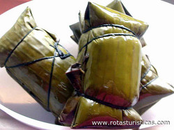Filipino Sweet Sticky Rice Cakes (suman sa Lihiya)