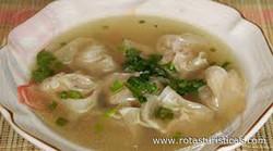 Filipino Wonton Soup