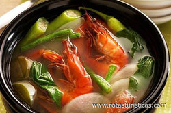Filipino Sour Soup (seafood Sinigang)