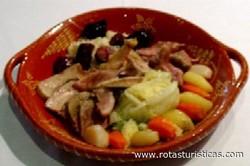 Sopa Seca do Cozido à Portuguesa (minho)