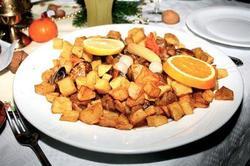 Carne de Porco á Alentejana