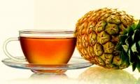 Pineapple and cinnamon bark tea