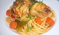 Spaghetti al Pollo
