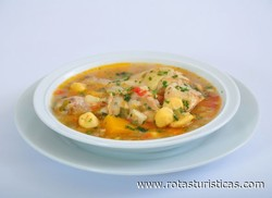 Chicken Soup With Ricotta Dumplings (vori Vori de Pollo)