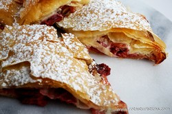 Sour Cherry Filo Pie (pita sa Višnjama)