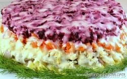 Herring Under The Winter Coat Salad