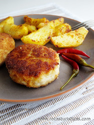 Kotlety Pozharskie (chicken Cutlets)