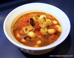 Hearty Bean And Pasta Soup
