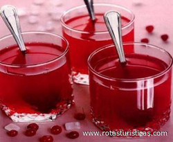 Cranberry Kissel