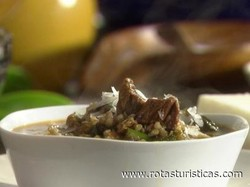 Beef And Buckwheat Soup