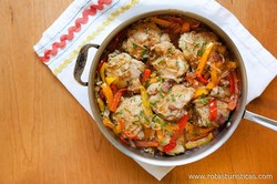 Braised Chicken With Vegetables