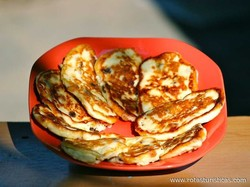 Sirniki - Farmer´s Cheese Pancakes