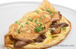 Mushroom Omelette (svampomelett)