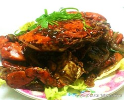 Singapore Wok-fried Black Pepper Crab