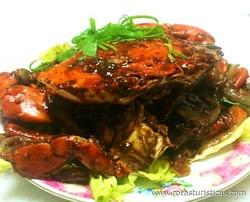 Singapore Wok-fried Black Pepper Crab