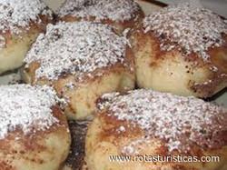 Parené Buchty (steamed Buns)