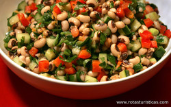 Black-eyed Bean Salad (salatu Niebe)