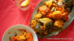 Rice And Fish Stew (thieboudienne)