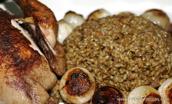 Freekeh With Chicken