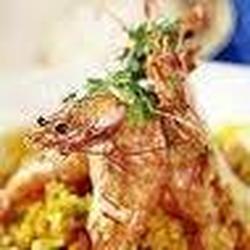 Camarones al Curry Picante
