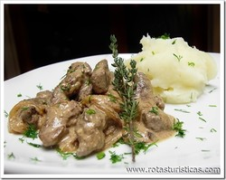Liver in Sour Cream