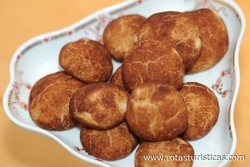 Mini Cookies de Canela