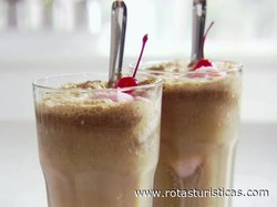 Cherry Vodka Cola Float