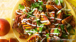 Grilled-peach Salad