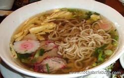 Hawaiian Noodle Soup (saimin)