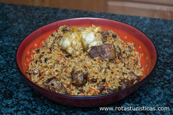 Lamb, Raisin And Bean Plov