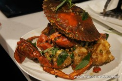 Crab Wok-tossed in Tamarind Sauce