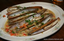 Razor Clams in Coconut Broth